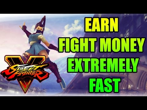 HOW TO EARN FIGHT MONEY EXTREMELY FAST| Street Fighter 5