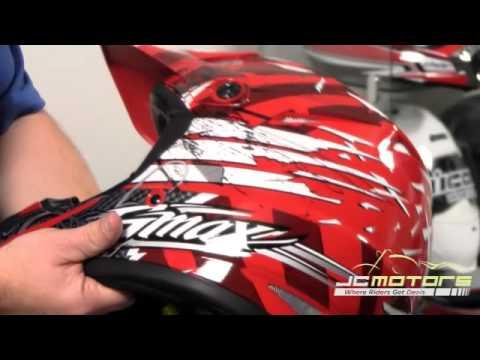 GMAX GM46X-1 Helmet, Dirt Bike Helmet
