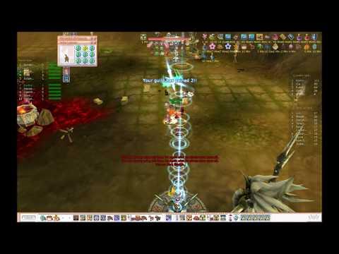 Flyff Tanuki Guild Siege 4/14/2012 PoV-neli Harlequin