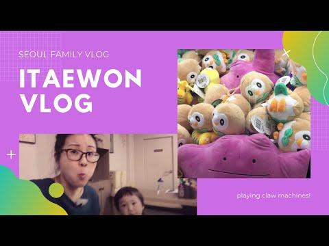 Kawaii UFO Catcher: Korean Claw Machines & Vietnamese PHO in Seoul | Korea VLog