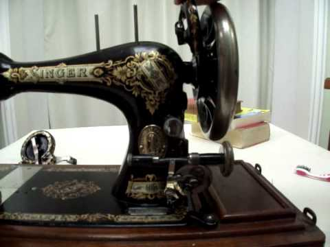 How to clean and oil a vintage sewing machine Part 2