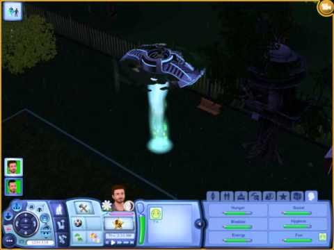 Sims 3 Seasons - Alien Abduction