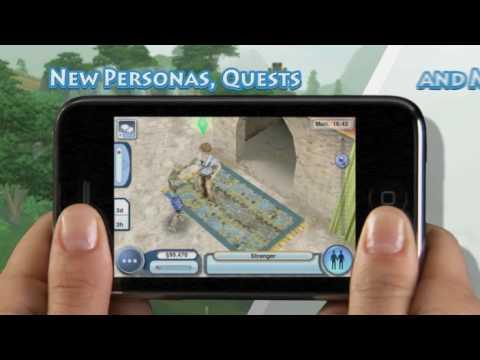 Sims 3 World Adventures iPhone