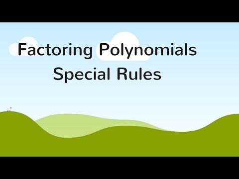 Factoring Special Cases - Must Know Algebra Skills