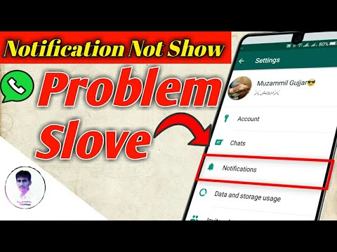 How To Fix Whatsapp Notifications Problem Solve