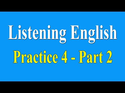 English Listening Practice Level 4 | Part 2 - Learn English Listening Lessons Online