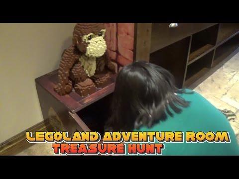 Legoland Windsor 2016 Vlog #2 - Legoland Hotel Treasure Hunt Adventure Room