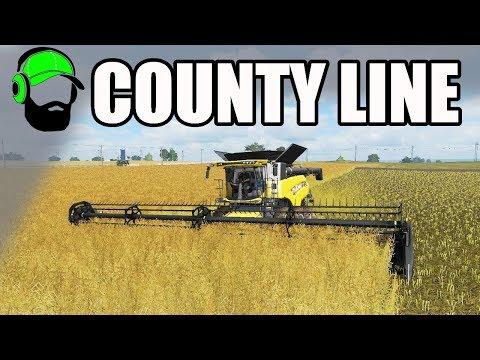 Farming Simulator 17 - County Line - Early Autumn canola #FS17