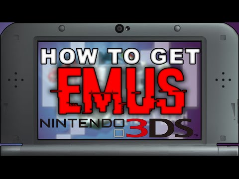 Retroarch: How to Get EMULATORS on Nintendo 3DS - SNES, GBA, PSX, NES, GENESIS and More!