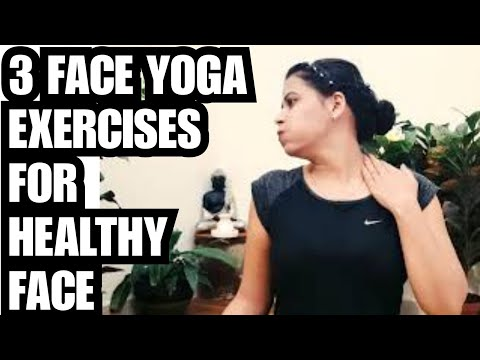 Yoga for Healthy and Fit Face   3 Face Yoga Exercises For Glowing and Wrinkles Free Skin-#YOGASHAKTI