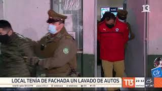 Detienen a 29 personas en una fiesta clandestina de Santiago centro