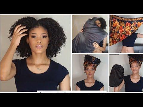 Nighttime Hair Routine for Natural Hair