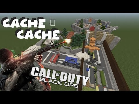CACHE CACHE MINECRAFT | ÉPISODE 53 | MAP CONVOY CALL OF DUTY BLACK OPS (Ps4)