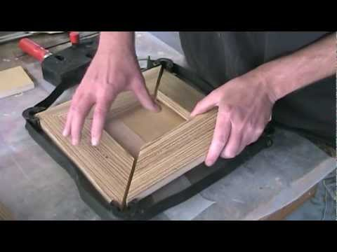Make a lighted shadowbox