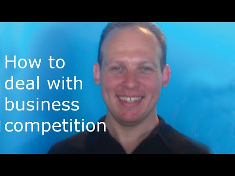 How to deal with and beat your business competitors