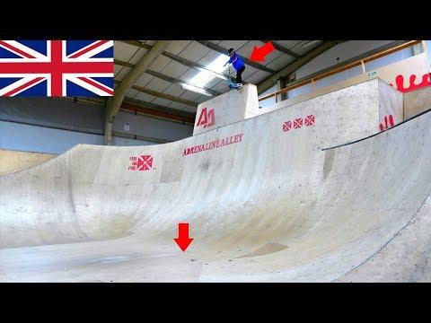 10 YEAR OLD VS UK'S BIGGEST DROP IN!
