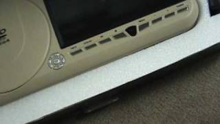 Change your car sun visor into a TV entertainment system!