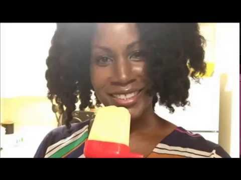 Easy Pineapple Organic Soy Milk Green Tea Popsicle - Vegan Recipe - Plant Based