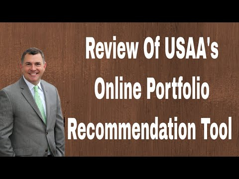 Review of USAA's Online Portfolio Recommendation Tool (2018)
