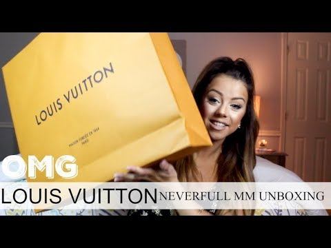 LOUIS VUITTON NEVERFULL MM UNBOXING!! |Addicted2TooFaced