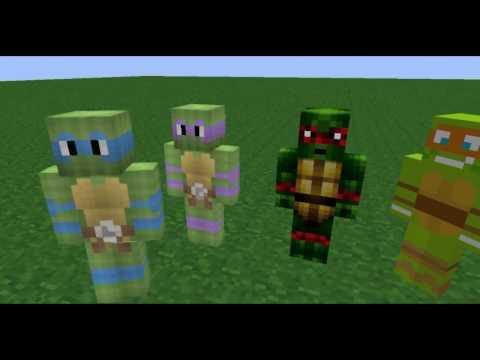 | minecraft animace | CZ | teenage mutant ninja turtles |
