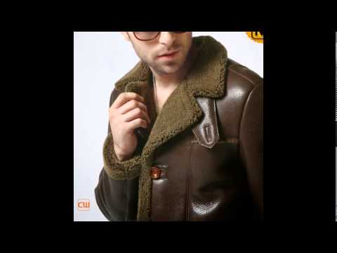 Brown Shearling Coat for Men CW852261 www.cwmalls.com