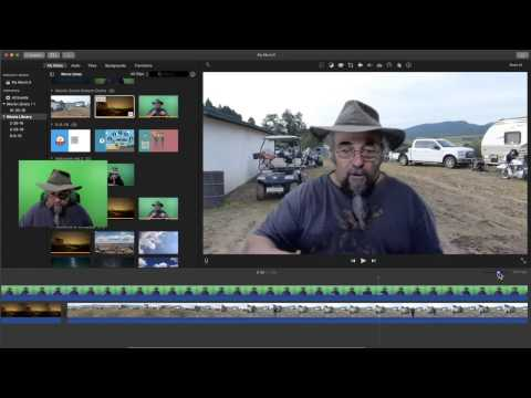 How to Enhance a Green Screen Background in IMovie 2016