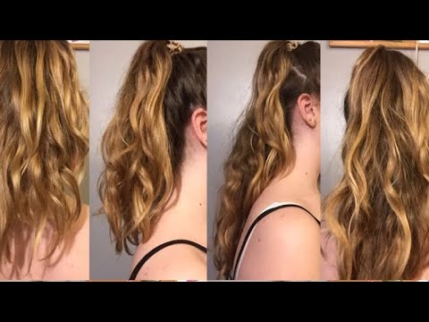 How To Make Your Hair Look Longer In Seconds!
