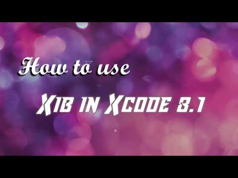 How to,use xib file, in ,xcode 8.1, | ,iOS Tutorials ,free videos