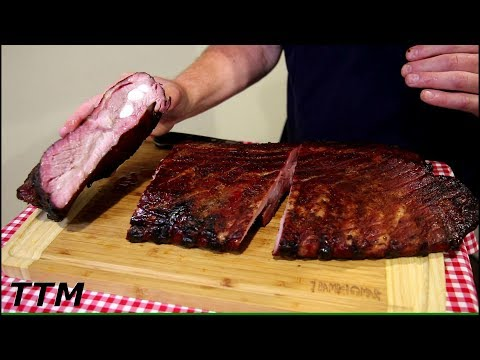 BIG Rack of Ribs on the Weber Kettle