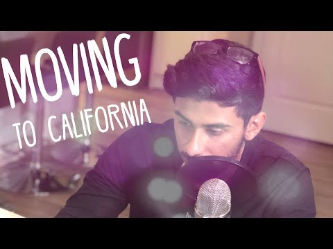 LIVE: I'm moving to California