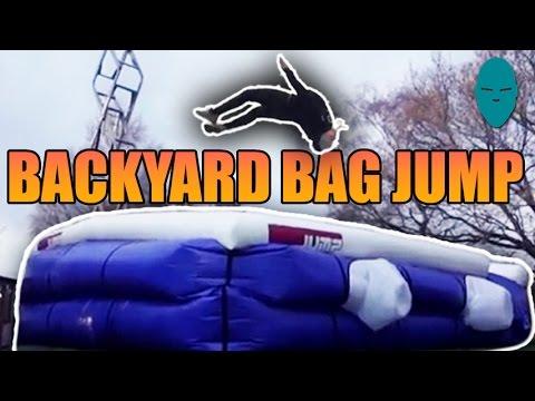 Backyard Bag Jump!   Damien Walters