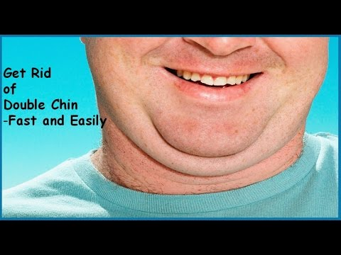 Get Rid of Double Chin Fast and easily