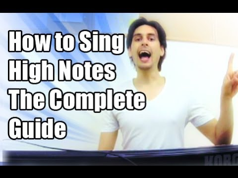 How to Sing High Notes For Guys: The Complete Roadmap / Grow-The-Voice.com