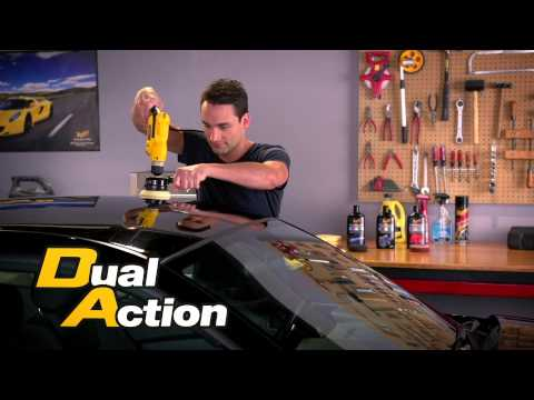 More Shine In Less Time With Meguiar's® Dual Action Power System