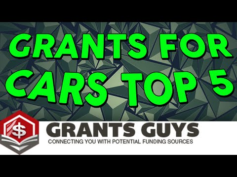 Grants For Cars Top 5