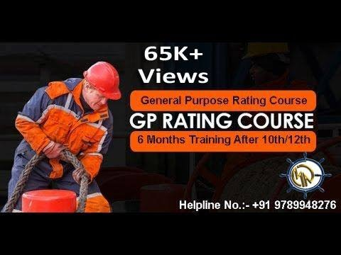 GP Rating Course (Hindi Version) | Merchant Navy Course | After 10th/12th(any subject)/12th Fail