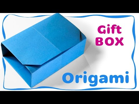 Origami Tutorial: Paper Gift Bag (NO glue)