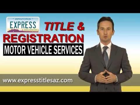Express Title & Registration | Phoenix Arizona MVD Service