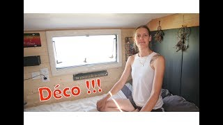 Comment Aménager un bus en camping car - S 03 : EP 09 - Décoration chambre parentale