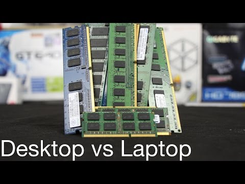 Desktop vs Laptop RAM