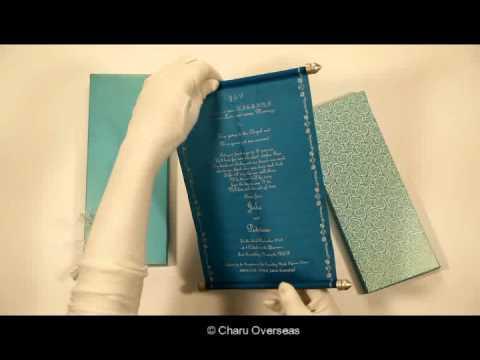Scroll Invitations   DIY Handmade Scrolls