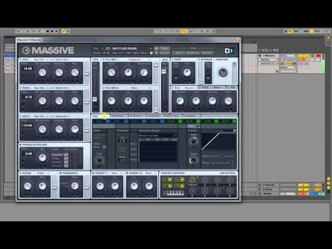 How to make a Big Room Pluck Sound in Native Massive