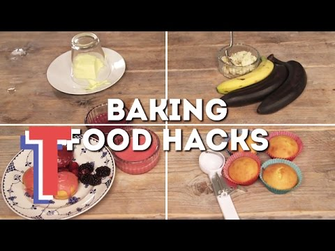 Four Genius Baking Hacks | Food By Numbers