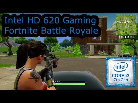 Intel HD 620 Gaming - Fortnite Battle Royale - i3-7100U, i5-7200U, i7-7500U, Kaby Lake