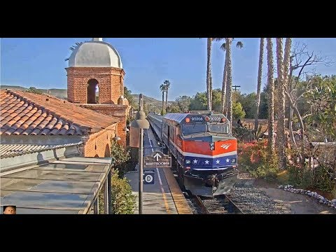 Amtrak with the Ocean View Dome AND a Veterans Unit