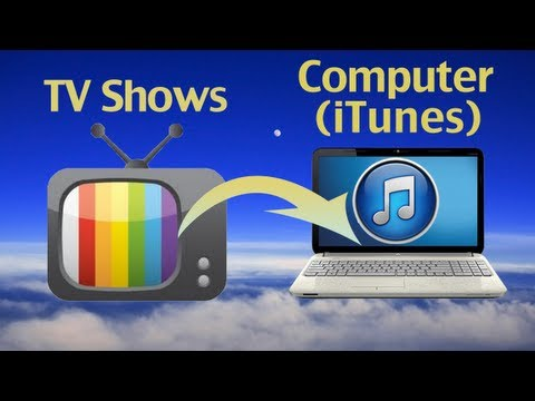 How to export TV Shows to iTunes or Copy iTunes Movies - TV Shows into new computer?