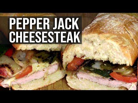Pepper Jack Cheesesteak recipe
