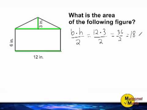 Finding The Area Of Combined Shapes