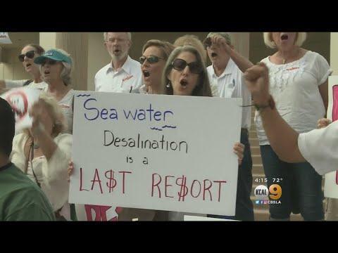Huntington Beach Residents Hoping To Lick Proposed Desalination Plant